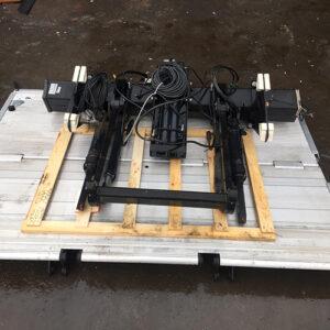 2500 Kg Kapasiteli AltaKatlanır Alüminyum Platform